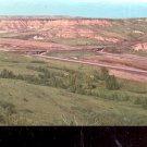 North Dakota badlands     Postcard ( # 555)