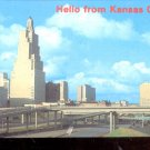 Hello from Kansas City !    Postcard (#564)