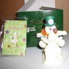 "Snowbabies ""Fun with Frosty the Snowman""- NIB"