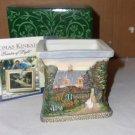 Thomas Kinkade Porcelain Candleholder- NIB