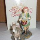 Avon  Drummer Boy and  Donkey Figurine