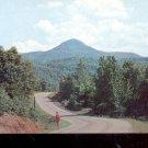 Round top mountain near Jasper, Arkansas on State Highway 7    Postcard- (# 606)