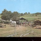 Old Time Sorghum Mill  in the Ozarks      Postcard- (# 616)