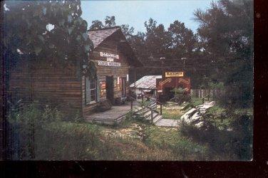 General Store and Blacksmith Shop  Heritage Garden- Texas  Postcard- (# 629)