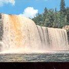 Upper Falls of the Tahquamenon River in Michigan    Postcard- (# 633)