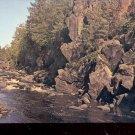 Rocks and Rapids  Upper Peninsula of Michigan   Postcard- (# 637)