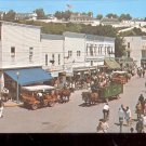Street scene of Mackinac Island, Michigan    Postcard- (# 640)