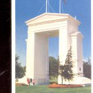 The Peace Arch on international Border between Canada and USA  Postcard- (# 656)