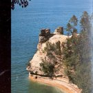 Miners Castle Pictured Rocks National Park, Michigan    Postcard-  (# 671)