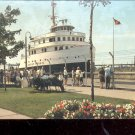 The Soo Locks - Sault Ste. Marie, Michigan Postcard - (# 674)
