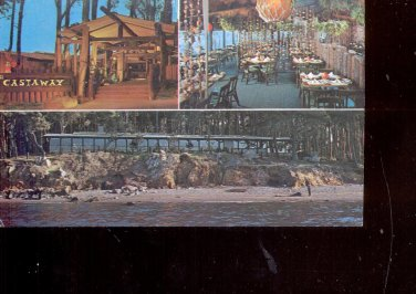 The Castawy of Coyote Point  - San Mateo, California     Postcard   (# 697)