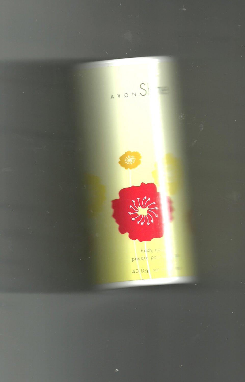 6 Avon Shine Body Powder-  - Vintage