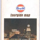 1968 Houston, Tx. Tourgide map- Gulf