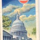 1966 Washington, D. C. Map- Gulf