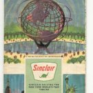 1965 Alabama, Mississippi- Sinclair Road map