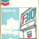 1971 Kentucky Tennessee Chevron map