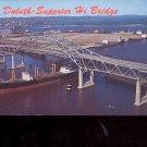 Duluth- Superior Hi Bridge     Postcard     (# 704)