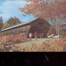 Old Covered Bridge       Postcard     (# 709)