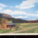 Typical central Oregon Ranch Scene     Postcard     (# 722)
