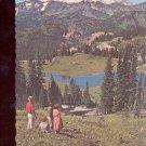 Mount Rainier and Tipsu Lake    Postcard   (# 732)