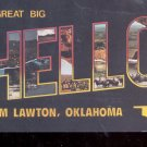 A great big hello from Lawton, Oklahoma   Postcard   (# 749)