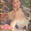 """Victorian lady listening to records  Print (#9) 11""""x14"""""""