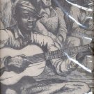 """Sketch of men and one playing guitar print (#38)  11""""x14"""""""