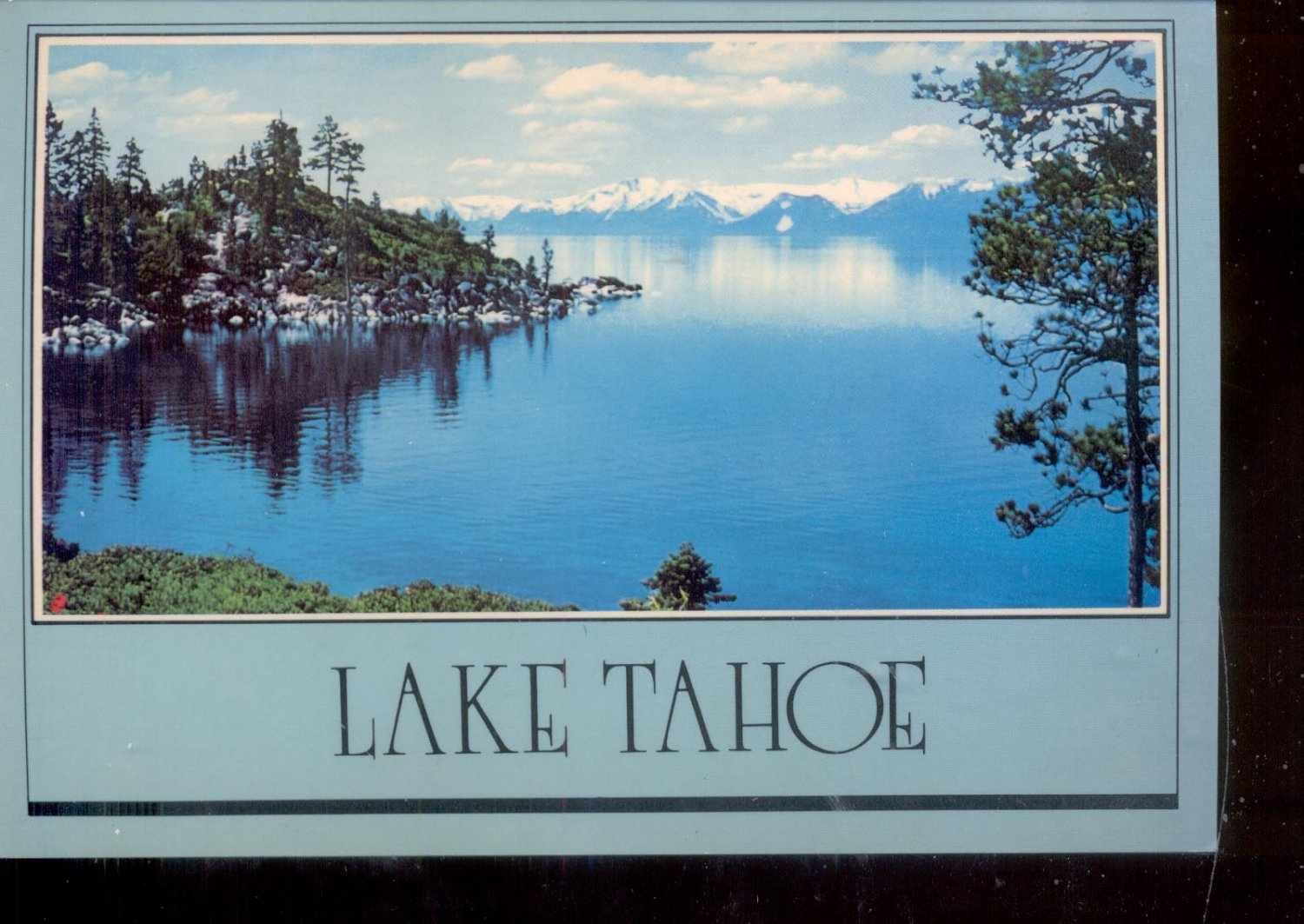 Lake tahoe postcard 760 for Lake tahoe jewelry stores