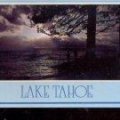 Lake Tahoe's  Stormy Sunset       Postcard   (# 763)