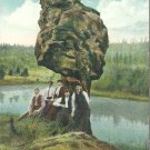 Balancing Rock, Oregon    Postcard  (#  625)