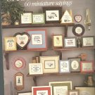 Leisure Arts-  Short and Sassy - 60 miniature sayings