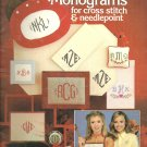 Leisure Arts-  Charted Monograms for cross stitch & Needlepoint (#1)