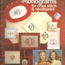 Leisure Arts-  Charted Monograms for cross stitch & Needlepoint (#2)
