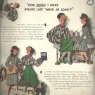 Feb. 1948  Lux from Lever brothers Company       ad  (# 6651)