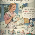 Feb. 1948   Swan Soap from Lever brothers Company     ad  (# 6654)