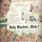 Feb. 1948    Colgate Ribbon Dental Cream          ad  (# 6660)