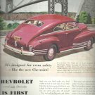 Sept. 1948  Chevrolet    ad (# 4225 )