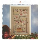 Apple Sampler designs by Charlotte cross stitch leaflet