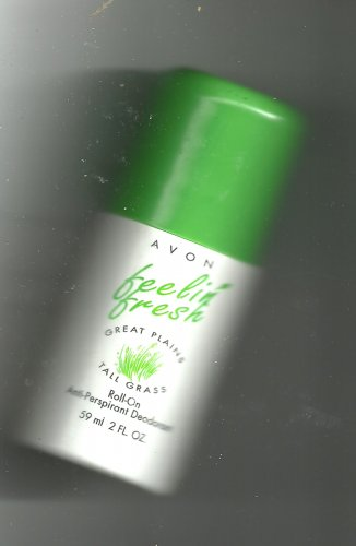 3 Avon Feelin' Fresh Great Plains Tall Grass  Roll on Deodorant 2 fl. oz.- NOS