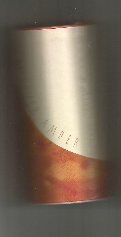 Avon Forever Amber Luscious Talc- NOS