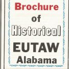 1975 Map & Brochure of Historical Eutaw, Alabama