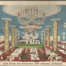 Blue Room, The Roosevelt, New Orleans, Louisiana postcard