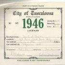 1946 City of Tuscaloosa , Alabama Business License