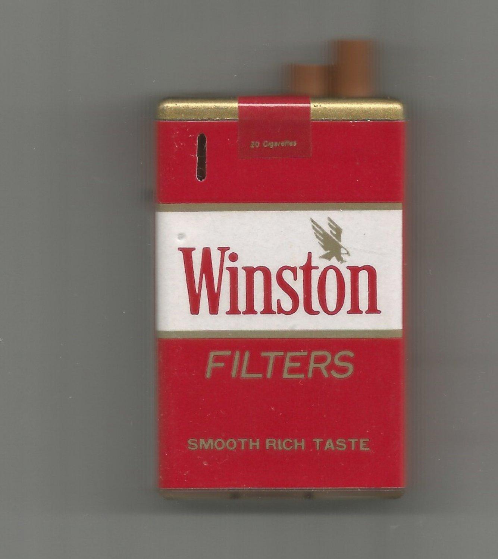Vintage Winston Filters Cigarette Lighter