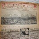 Teewinot Grand Teton National Park Information Summer 1989