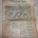 Yellowstone Today Publication  Information Summer 1989