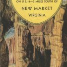 Endless Caverns New Market , Virginia brochure 1960s
