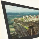 Rock City atop  Lookout MOuntain Caves Chattanooga, Tennessee brochure 1960s