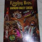 Ringling Bros. and Branum & Bailey Circus 102 nd edition Souvenir Program  1972