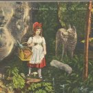 Little Red Riding Hood Rock City Gardens, Lookout Mountain postcard